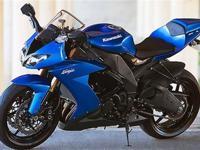"2008 Kawasaki ""Ninja ZX-10R"" Stands In"