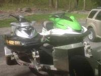 2008 Kawasaki Ultra 250X/Sea Doo RXT Boat is located in