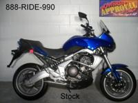2008 Kawasaki Versys 650 motorbike for sale with only