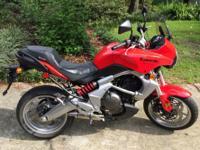 2008 Kawasaki Versys 650cc.. Only 3400 miles. Original