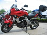 Nice Kawi Versys with Topcase NEW FOR 2008 Big comfort,
