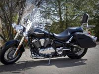 2008 Vulcan 900 Classic with many extras including