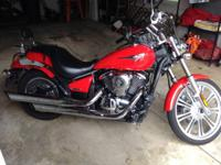 Selling my 2008 Kawasaki Vulcan 900 Custom. I just