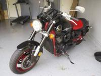 2008 Kawasaki Vulcan Meanstreak in great condition. All