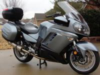 2008 KAWASAKI CONCOURS 1400 With ABS Brakes! This