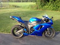 I am selling my 2008 ZX-6R for additional capital for