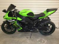 ZX1000 Ninja ZX- 10R in outstanding condition the