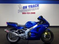 2008 Kawasaki ZZR600 On Track Powersports is a family