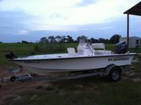 I have a 2008 Kenner center console bay boat for sale.