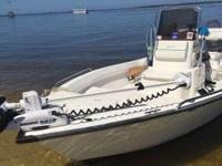 2008 Key Largo 168CC. 17.6 feet in overall length-