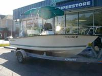 2008 Key Largo 180 CC w/90hp Yamaha and trailer $12,999