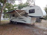"2008 Keystone Cougar have a 32ft4"" Keystone Cougar 5th"