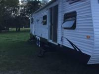 2008 keystone hideout 38ft travel trailer with 2 slide