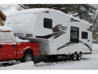 2007 Keystone RV Cougar M-276RLS 5th Wheel. Length