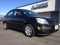 2008 Kia Rio 4dr Car Our Location is: Flower Motor