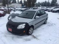 Very clean, low mileage Kia Rio with automatic