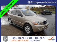 Options:  2008 Kia Sorento Lx|Brown|We Finance!