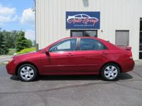 Our 2008 Spectra EX is the perfect buy for drivers just
