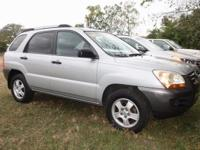 Steel Silver Metallic 2008 Kia Sportage LX FWD 5-Speed
