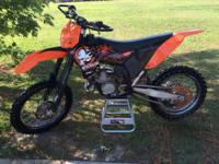 Purchasers,.  Up for sale today we have a 2008 KTM