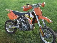 2008 KTM 200 XC One ride on new Dunlop MX 51 tires, JD