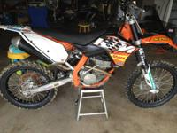 2008 Ktm 250sxf top and bottom end done over