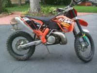 2008 KTM 300 XC for sale. All set to ride. Compression