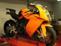 2008 RC8 with a plaque to validate that it is the 4th