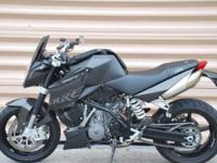 2008 KTM Super Duke 990 This comes equipped with both