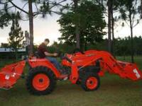 2008 Kubota L3400 34 HP tractor for sale. This tractor
