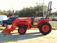 This is a very nice like new great running tractor with