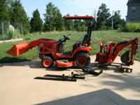Kubota BX2350D 4x4 tractor with hydrostatic