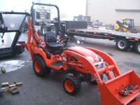 2008 Kubota BX24 TRACTOR/LOADER/BACKHOE Start with the