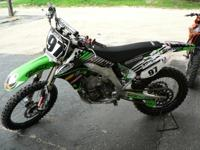 General information Model: Kawasaki KX450F Year: 2008