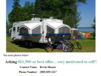 This is a great family camper. With the beds folded in