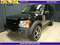 LR3 4WD with navigation and all pwr options. Upgraded