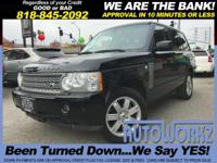 Options:  2008 Land Rover Range Rover Join Our Family