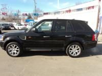 2008 RANGE ROVER SPORT HSE SUPER CLEAN CAR. ONE- OWNER