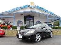 2008 Lexus ES 350 FWD with highly effective V6, 3.5 L