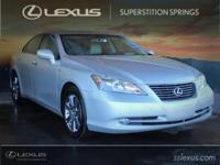 New Price!  Cloth.  2008 Lexus ES 350 Tungsten 3.5L V6