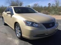 Lexus ES 350 in Golden Almond Metallic with Leather