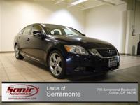 This ONE OWNER, LUXURIOUS, 2008 LEXUS GS350 will