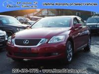 This 2008 Lexus GS 350 Lexus includes a push button