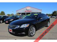 THIS BLACK SAPPHIRE PEARL GS IS A DREAM TO DRIVE AND