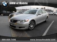 BMW of Mobile presents this 2008 LEXUS GS 460 4DR SDN