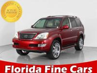 GX 470 trim. Moonroof, Nav System, Heated Leather