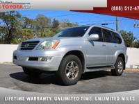 2008 Lexus GX 470 4x4 V8, *** FLORIDA OWNED VEHICLE ***