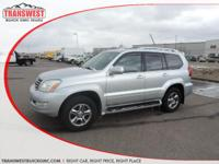 Options:  2008 Lexus Gx 470 Silver|Grey Leather|This Is