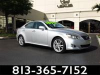 2008 Lexus IS 250 Our Location is: Lexus Of Tampa Bay -