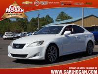 Options:  2008 Lexus Is 250 Base|4Dr Sedan 6A|* 2.5